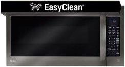 LG Black Stainless Steel Series 2.0 cu.ft. Over-the-Range Microwave Oven with EasyClean™