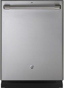 GE Cafe(TM) Series Stainless Interior Built-In Dishwasher with Hidden Controls
