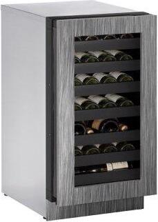 """3018wc 18"""" Wine Refrigerator With Integrated Frame Finish and Field Reversible Door Swing (115 V/60 Hz Volts /60 Hz Hz)"""