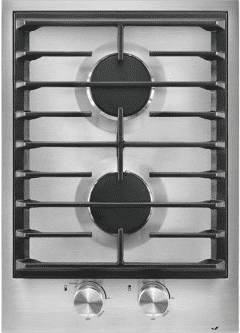 "15"" 2-Burner Modular Gas Cooktop"