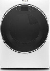 Whirlpool(R) 7.4 cu. ft. Smart Front Load Electric Dryer - White