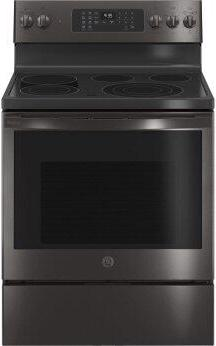 """GE Profile™ 30"""" Smart Free-Standing Electric Convection Range with No Preheat Air Fry"""