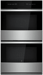 """NOIR 30"""" Double Wall Oven with MultiMode(R) Convection System"""