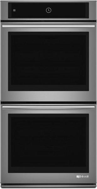 "Euro-Style 27"" Double Wall Oven with Upper MultiMode™ Convection System Stainless Steel"