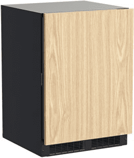 24-In Built-In High-Efficiency Dual Zone Wine Refrigerator with Door Style - Panel Ready