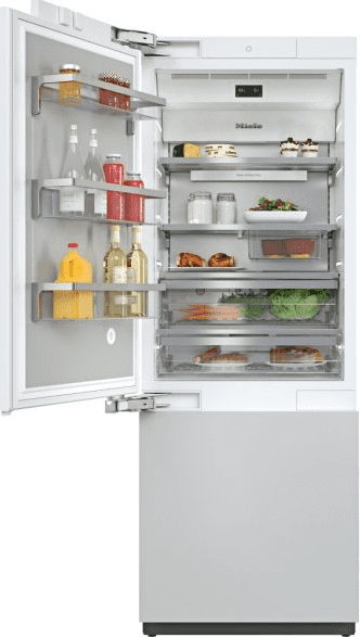KF 2812 Vi - MasterCool™ fridge-freezer For high-end design and technology on a large scale.