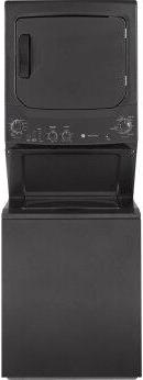 GE Unitized Spacemaker™ 3.8 cu. ft. Capacity Washer with Stainless Steel Basket and 5.9 cu. ft. Capacity Electric Dryer