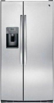 GE™ ENERGY STAR™ 25.3 Cu. Ft. Side-By-Side Refrigerator
