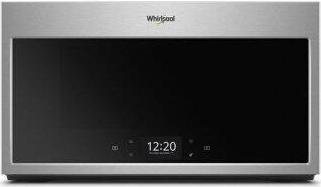 Whirlpool(R) Smart 1.9 cu. ft. Over the Range Microwave with Scan-to-Cook Technology - Print Resist Sunset Bronze