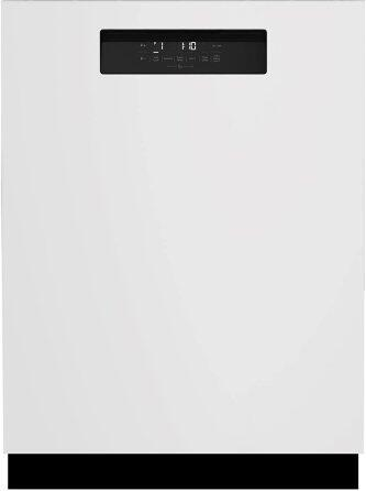 Tall Tub White Dishwasher, 15 place settings, 45 dBa, Front Control