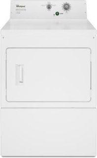 Whirlpool™ Commercial Electric Super-Capacity Dryer, Non-Coin - White