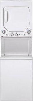 GE Unitized Spacemaker(R) 2.3 cu. ft. Capacity Washer with Stainless Steel Basket and 4.4 cu. ft. Capacity Electric Dryer