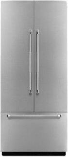 """Pro-Style™ 36"""" Fully Integrated Built-In French DoorPanel-Kit Stainless Steel"""
