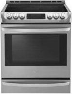 6.3 cu. ft. Electric Slide-in Range with ProBake Convection™ and EasyClean™