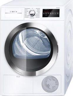 """24"""" Compact Condensation Dryer 800 Series - White/Chrome"""