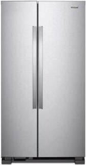 Whirlpool(R) 36-inch Wide Side-by-Side Refrigerator - 25 cu. ft. - Stainless Steel