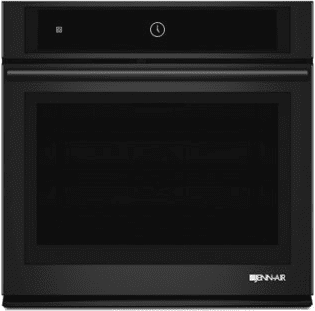 "Black Floating Glass 30"" Single Wall Oven with MultiMode™ Convection System"