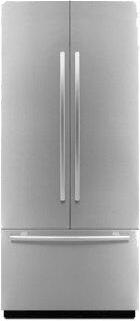 """Euro-Style 36"""" Fully Integrated Built-In French Door Panel-Kit Stainless Steel"""