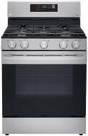 5.8 cu ft. Smart Wi-Fi Enabled Fan Convection Gas Range with Air Fry & EasyClean™