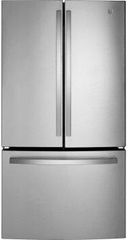 GE™ ENERGY STAR™ 27.0 Cu. Ft. Fingerprint Resistant French-Door Refrigerator