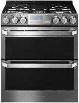 LG SIGNATURE 6.9 cu.ft. Smart wi-fi Enabled Gas Double Oven Slide-In Range with ProBake Convection™
