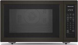 """21 3/4"""" Countertop Convection Microwave Oven with PrintShield™ Finish - 1000 Watt - Black Stainless Steel with PrintShield™ Finish"""