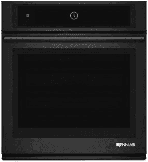 "Black Floating Glass 27"" Single Wall Oven with MultiMode™ Convection System"